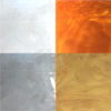 Hagmans Metallic Pigment, Vit Pärlemor/Silver/Brons/Ljus Guld