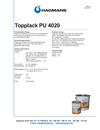 Hagmans PU 4020 topplack