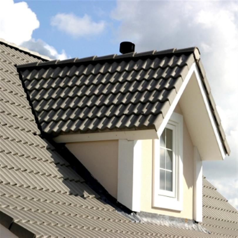 Hagmans Betongtaksfärg på tak