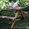 HAGS Picknickbord Träjon