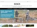HAGS Sportarenor för bollsporter på webbplats