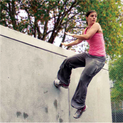 HAGS Freemove Parkour