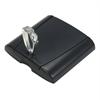 Allaway Optima svart sugdosa med lås och nyckel