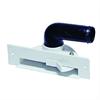 Allaway skräplucka/sockeluttag för montering i kökssockel eller i groventré