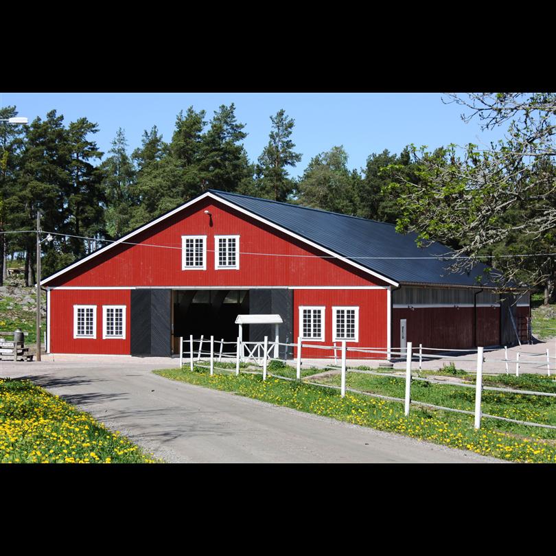 Byggkomponenter Ridhus och lantbrukshallar