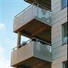 Strängbetong balkonger