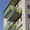 Strängbetong balkongplattor