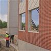 Strängbetong betongfasader, Sunfab, Hudiksvall