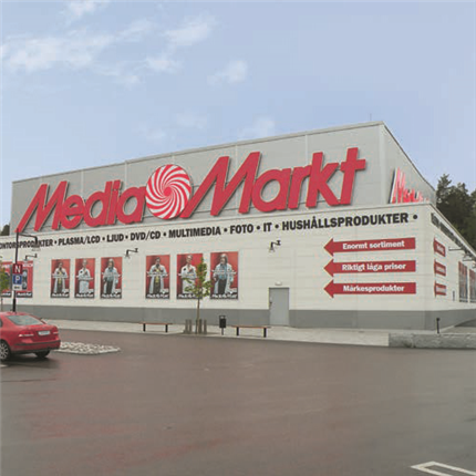 Strängbetong Bashallen Media Markt, Västerås