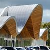 Protan SE takduk med Protan Omega profiler, Redfields Garden Centre, Fleet, Hampshire