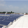 DerbiBrite NT reflekterande tätskikt på tak med solceller