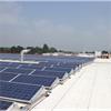 Reflekterande tätskikt på tak med solceller
