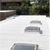 Ekologiskt, reflekterande tätskikt för tak