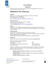 Derbigum SP FR Certifikat 0034/06