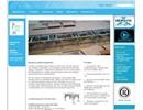 Jordbävningsstativ på webbplats
