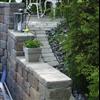 Fristående murar med Keystone Country Manor mursten