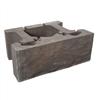 Keystone Compac Cut mursten för stödmur