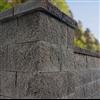 Keystone mursten Compac Plus som fristående mur