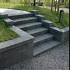 Keystone Garden Wall stödmur och trappa