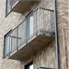 Alnova Classic balkongräcke på grundbalkong