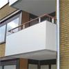 Alnova Disc balkongräcke