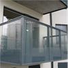 Alnova Flex balkongräcke grå