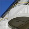 Alnova Metal rundat balkongräcke