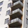 Alnova Nova kombinerade balkongräcken