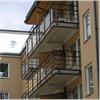 Alnova Nova Clear balkongräcken
