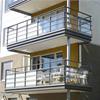 Alnova Nova Clear/Formica balkongräcken