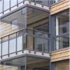 Alnova Novaline Clear luckor balkong