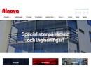 Alnova NovaLine inglasningsluckor på webbplats