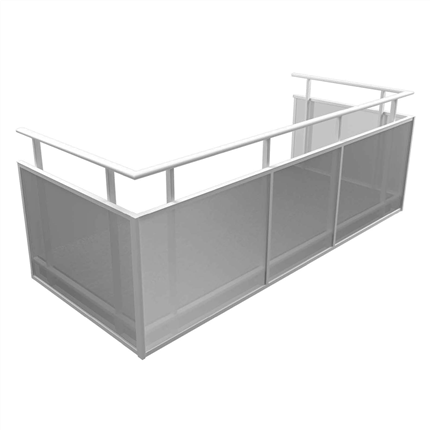 Alnova Flex balkongräcke