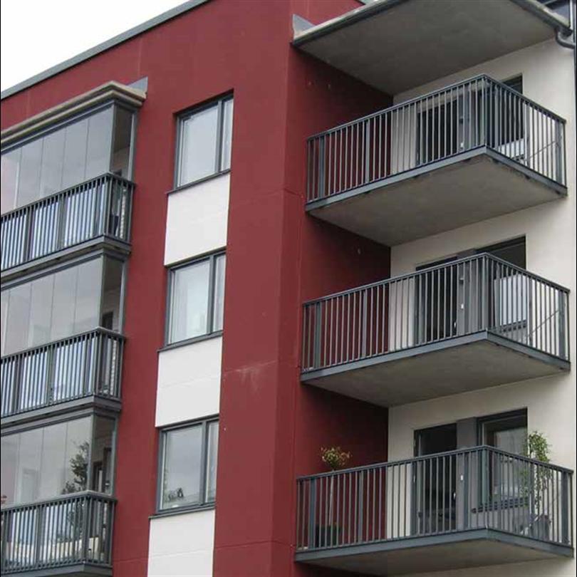 Alnova Classic balkongräcken och inglasningsräcken