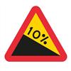 ATA Varningsmärke, A3 Varning för nedförslutning