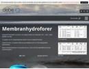 Debe hydroforer Information