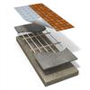 LK Golvvärmelist 12 - förläggning på bärande golv