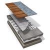 LK Systemskiva 30 - förläggning i betong