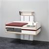 Flex 2000 skötbord, väggmonterat med tvättho