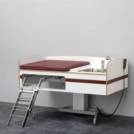 Flex 5000 golvstående, höj- och sänkbart skötbord