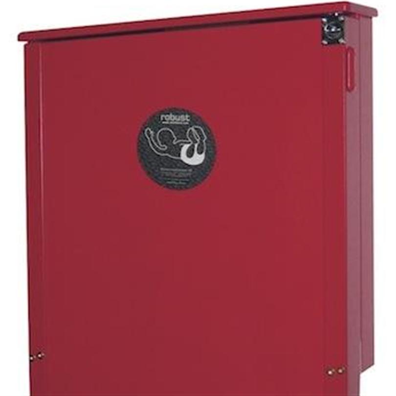 Skötbordsspecialisten Skötbord Robust Röd lackerad
