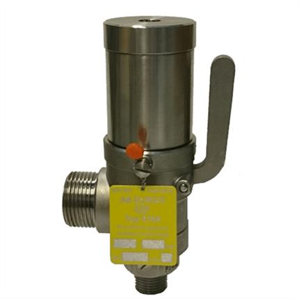 Durgo SV66 överströmningsventil, rostfritt stål