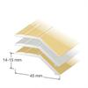 Duri nivålister KA 5, 14-15 mm