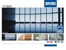 Duri taklister och rosetter på webbplats