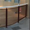 Montano Handelsstål - räckesstolpar, sträckmetall och handledare