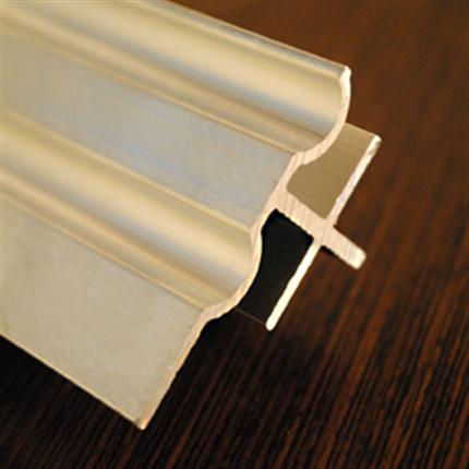 Capax aluminiumsprofiler kommer i olika utföranden. Blanka och svarta.
