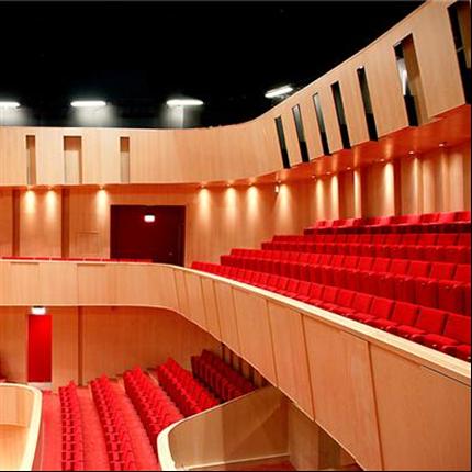 Akustikpaneler till Spira konserthus i jönköping