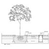 Luft- och vatteninfiltration till växtbäddar, anläggningsförslag