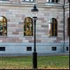 JOM Sverigestolpen lyktstolpe, Nationalmuseum, Stockholm