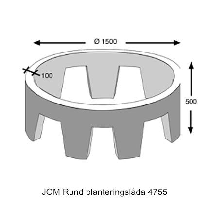 JOM Planteringsringar